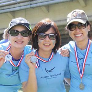 Winning in blue