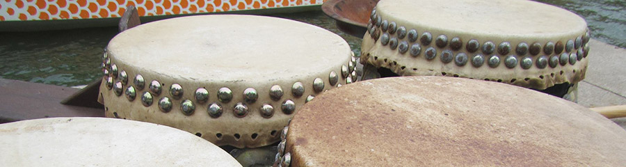 Dragon boat drums